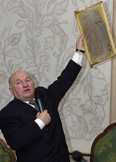 Юрия Лужкова обвиняют в излишней заботе о пчелах в ущерб задыхающимся москвичам