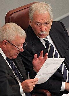 Олег Морозов и Борис Грызлов