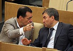 Андрей Макаров и Вячеслав Володин