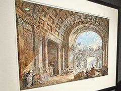 Шарль-Луи Клериссо. «Римские руины с восточным стаффажем»