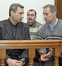 Дело о похищении, которого не было: (слева направо) вице-президент «Евросети» Борис Левин, сотрудники службы безопасности «Евросети» Виталий Цверкунов и Андрей Ермилов
