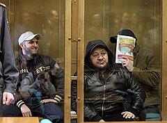 Дело о враге Кадырова: (слева направо) Асланбек Дадаев и Элимпаша Хацуев