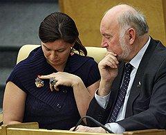 Наталья Карпович и Александр Козловский