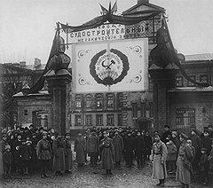 Демонстрации петроградских рабочих стали зримым поводом к вооруженному выступлению балтийских моряков