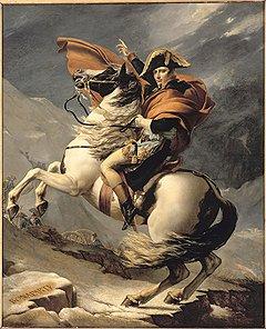 Образ Бонапарта кисти Луи Давида вдохновил отечественных мастеров на создание скульптуры Кутузова