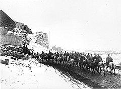 Русский генерал Гильчевский считал советизацию Закавказья (на фото — ввод Красной армии в Армению) типичным империалистическим захватом