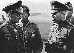 Доклад Быстрого Гейнца Гудериана (на фото справа) о состоянии Красной армии добыли и доставили в Москву только через три месяца после написания