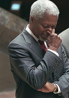Бывший генсек ООН Кофи Аннан отказался воевать с марихуаной