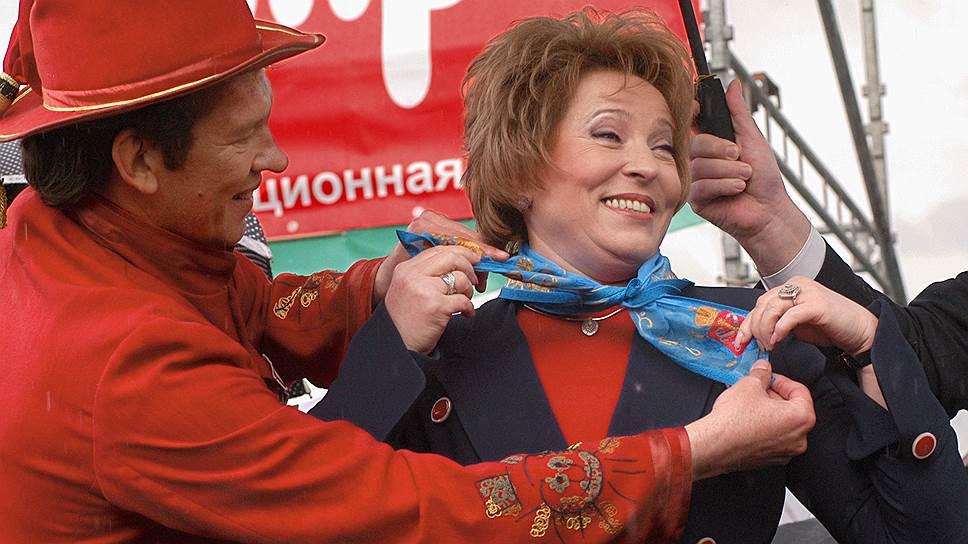 Для Валентины Матвиенко положение председателя Совета федерации вряд ли окажется лучше губернаторского