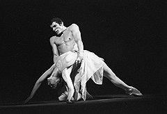 «Гибель розы». 1973. Майя Плисецкая и Руди Бриан