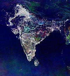 Результат экономического развития Индии хорошо виден из космоса: скоро полуостров Индостан — родина просветления может стать ярче Северной Америки — пионера электроосвещения