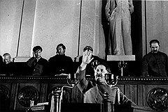 """""""Орджоникидзе говорил с акцентом, не всегда правильно, но умел так зажечь зал, что люди поднимались и шли туда, куда он призывал"""""""