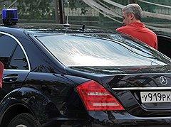 Мэр Москвы Сергей Собянин.  Москва, 2011 год