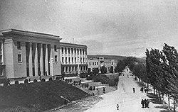 В очищенном от антисталинских элементов городе Сталинири предпочитали не вспоминать об отвергнутом Сталиным плане слияния Осетий