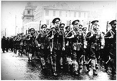 Все, кого мобилизовали в белую армию, в красной России последовательно лишались избирательных прав, работы и свободы