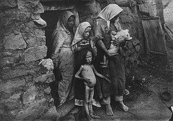 """""""Голод усиливается, учащаются случаи смерти на почве голода. За ноябрь и октябрь от голода умерли 663 ребенка, больных — 2735, взрослых — 399 человек. Усиливаются эпидемии"""""""