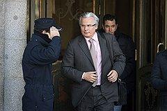 Охрана Верховного суда Испании (на фото) еще не научилась видеть обвиняемого в судье Гарсоне