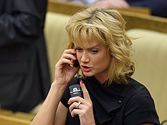 Депутат Госдумы Светлана Хоркина. <B>2010 год</B>