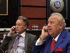 Поэт Андрей Дементьев и скульптор Зураб Церетели в Галерее искусств Зураба Церетели. <B>2006 год</B>