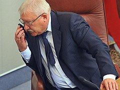 Первый заместитель председателя Госдумы Олег Морозов. <B>2011 год</B>