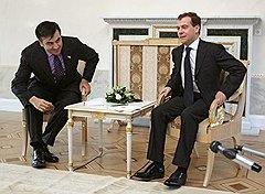 С Михаилом Саакашвили президент Медведев воевал
