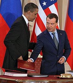 С Бараком Обамой президент Медведев дружил