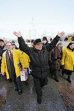 Поддержка образования. Ректор МГУ Виктор Садовничий. Москва, 2005 год