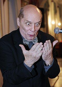 Чтение с листа. Актер Александр Филиппенко. Санкт-Петербург, 2010 год