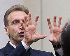 Железная хватка. Первый заместитель председателя правительства России Игорь Шувалов. Санкт-Петербург, 2010 год