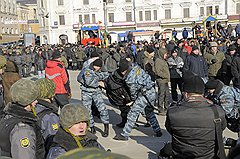 Жестокий разгон в 2008 году митинга против повышения таможенных пошлин на ввоз иномарок привел к образованию в Приморье протестного движения