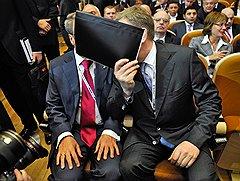Несмотря на то что президент Сбербанка Герман Греф и экс-министр финансов Алексей Кудрин не работают в Кремле, они остаются главными советчиками Владимира Путина
