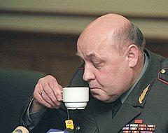 Первый заместитель начальника Генерального штаба вооруженных сил России генерал-полковник Юрий Балуевский. Москва, 2002 год