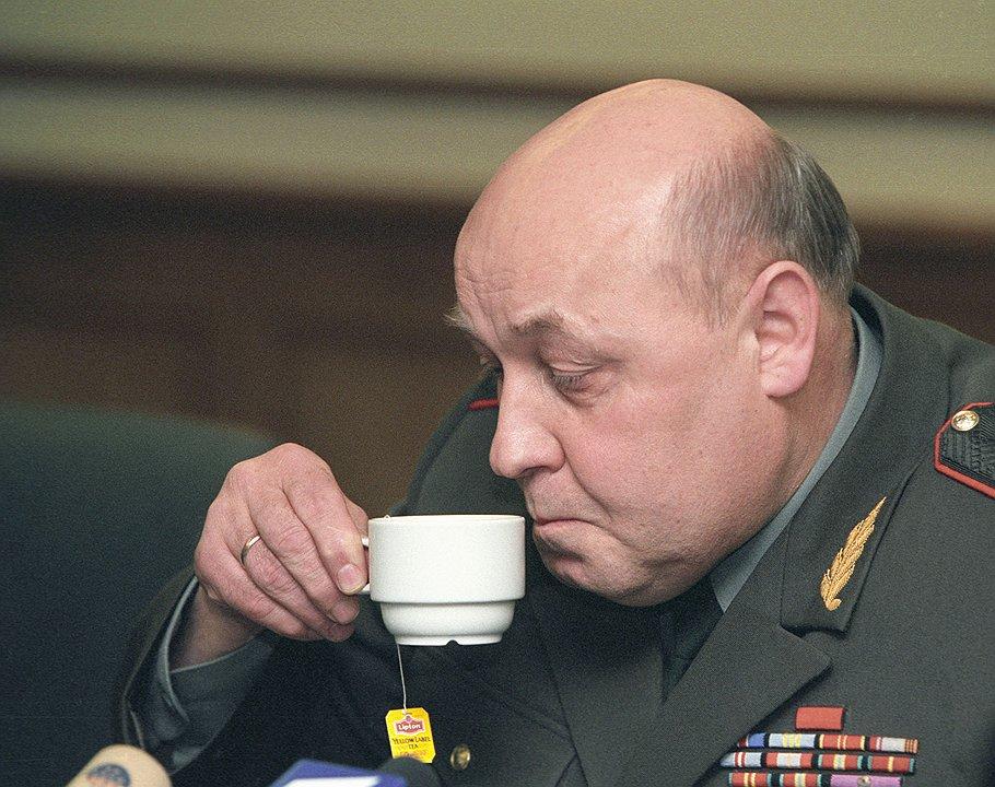 Первый заместитель начальника Генерального штаба вооруженных сил России генерал-полковник Юрий Балуевский. Москва, <b>2002 год</b>