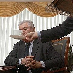 Президент Молдовы Владимир Воронин. Кишинев, 2005 год