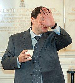 Губернатор Красноярского края Александр Хлопонин. Москва, 2005 год
