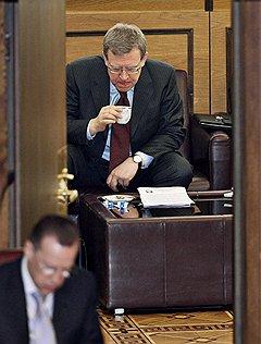 Заместитель председателя правительства России, министр финансов Алексей Кудрин. Москва, 2009 год