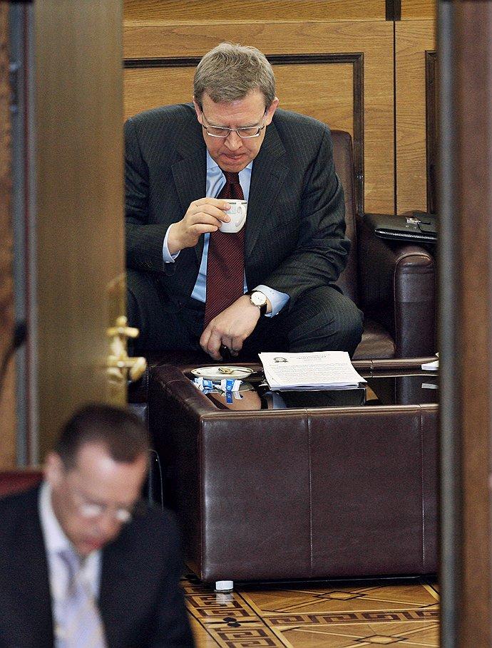 Заместитель председателя правительства России, министр финансов Алексей Кудрин. Москва, <b>2009 год</b>