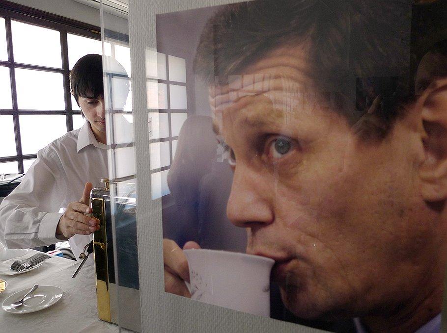 Портрет заместителя председателя правительства России Александра Жукова. Москва, <b>2010 год</b>
