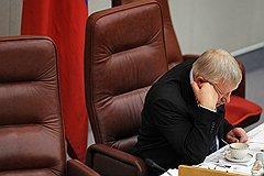 Первый заместитель председателя Государственной думы России Олег Морозов. Москва, 2011 год