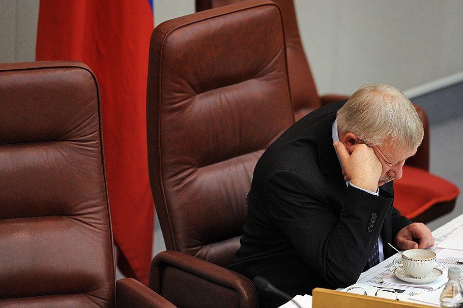 Первый заместитель председателя Государственной думы России Олег Морозов. Москва, <b>2011 год</b>