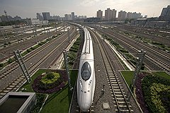 К 2020 году площадь новых дорог в городах и пригородах Китая может достичь 5 млрд кв. м, а общая длина новых железнодорожных путей — 28 тыс. км