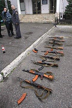 На Северном Кавказе регулярно встречают то, с чем попрощались армейские арсеналы