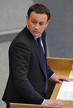 Удовольствием от новейшего антимитингового законодательства оппозиция обязана депутату Александру Сидякину (на фото)
