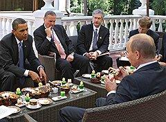 После того как президентом России вновь стал Владимир Путин, переговоры с США стали более напряженными