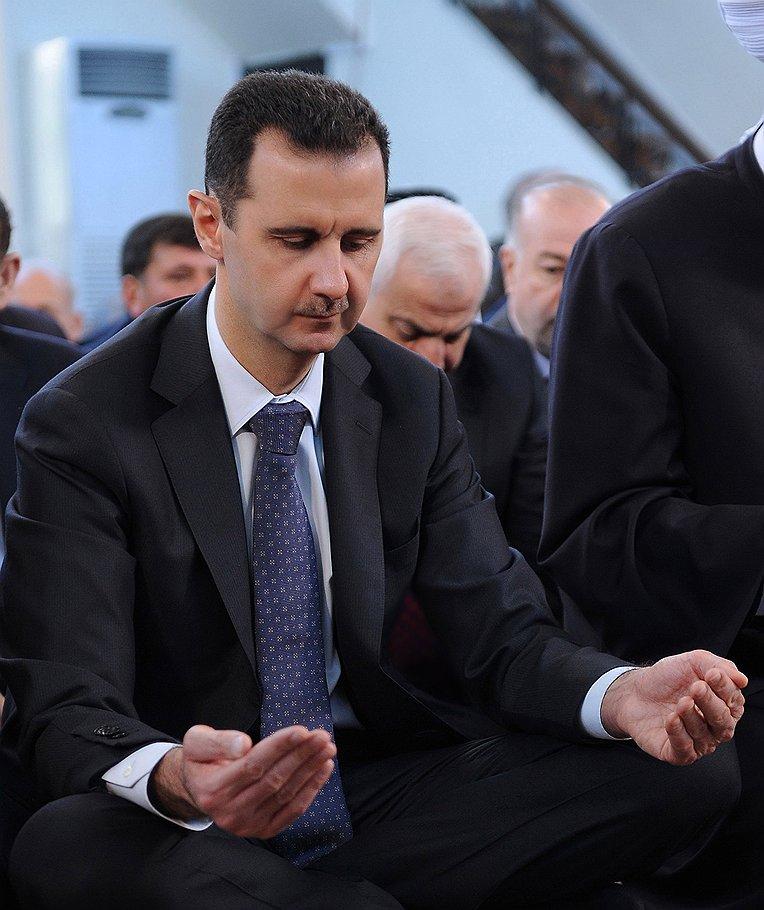 Режим Башара Асада (на фото) — единственное серьезное препятствие, мешающее Евросоюзу получить новые источники трубопроводного газа