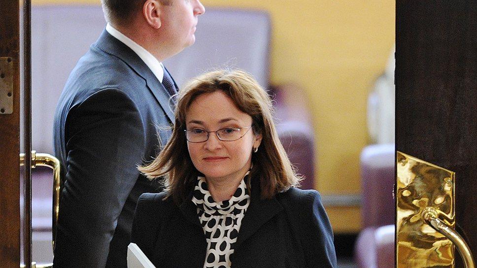 Наибольшая активность в продвижении контрактной системы приписывается бывшей главе Минэкономики Эльвире Набиуллиной