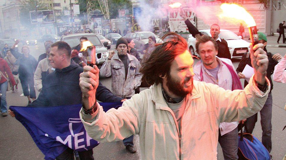 """Активисты полагают, что члены движения """"Смена"""" в будущем станут ядром ручной оппозиции"""