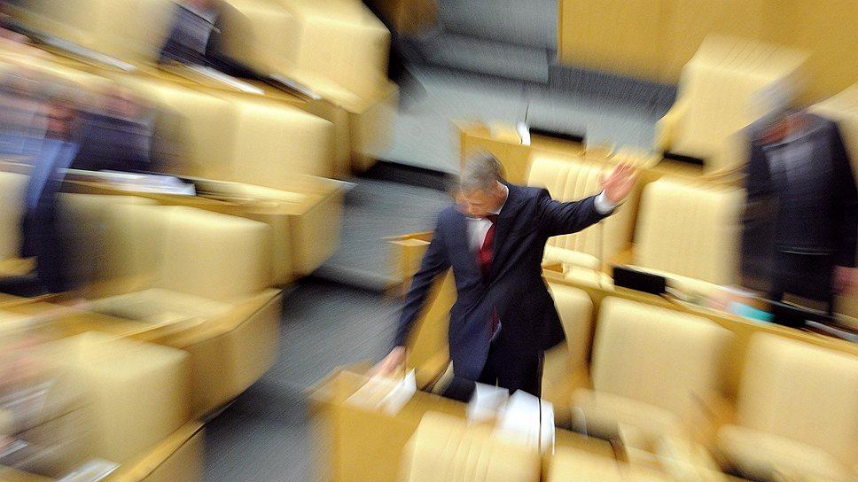 В последнее время самые резонансные законопроекты не вносятся Кремлем, а доверяются отдельным депутатам Госдумы