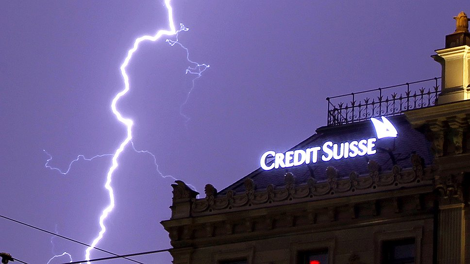 49 финансовых компаний, среди которых Credit Suisse, взаимно владеют друг другом и контролируют 40% всех остальных корпораций