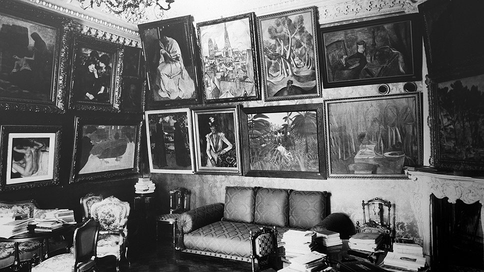 До революции Сергей Щукин держал коллекцию импрессионистов в собственной гостиной
